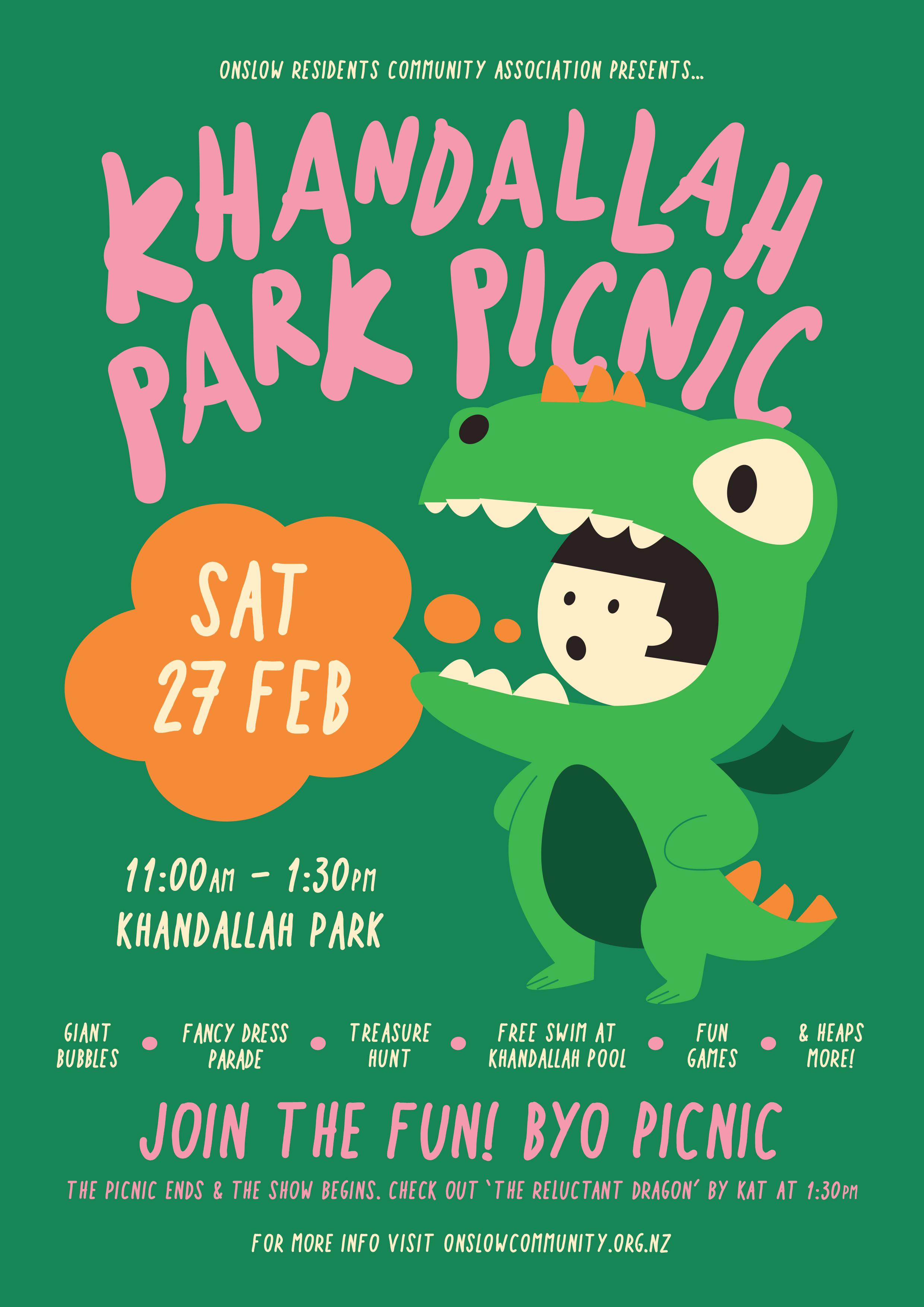 Khandallah Park Picnic Poster